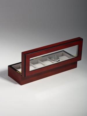 Кутия за съхранение Rothenschild RS-1087-6C за 6 часовника