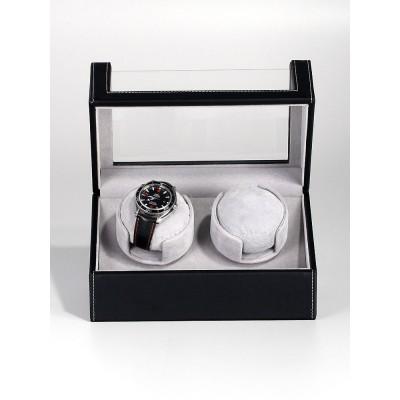 Кутия за навиване Rothenschild RS-2114-BK за 2 часовника