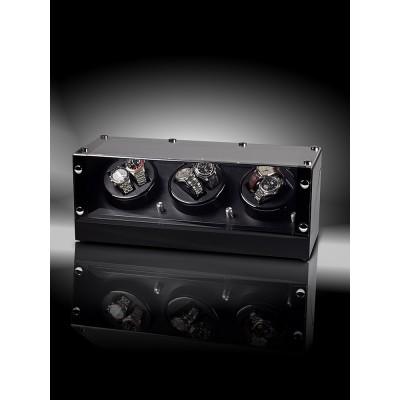 Кутия за навиване Rothenschild Bergamo RS-2300-BK за 6 часовника