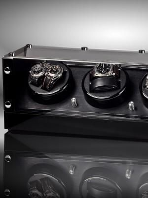 Кутия за навиване Rothenschild Bergamo RS-2301-BK за 8 часовника