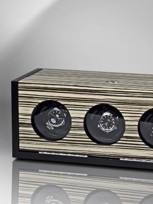 Кутия за навиване Rothenschild Vienna RS-2045-ZBR за 3 часовника