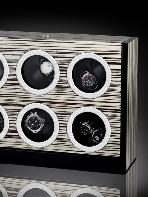 Кутия за навиване Rothenschild Wienna RS-2085-ZBR за 12 часовника