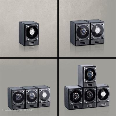 Кутия за навиване на часовник Designhuette  Piccolo Стартер Сет - карбон