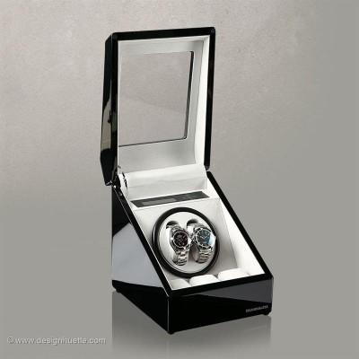 Кутия за навиване на часовници Designhuette Monaco - черно