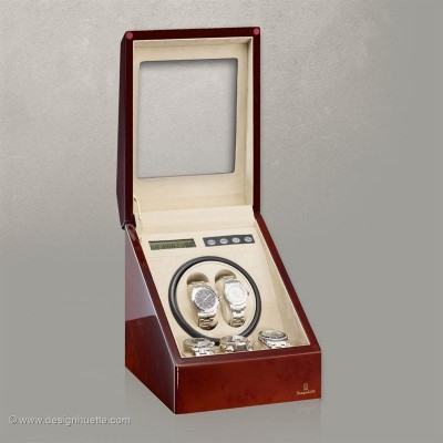 Кутия за навиване на часовници Designhuette  Monaco - махагон