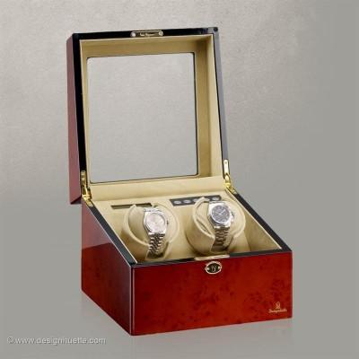 Кутия за навиване на часовници Designhuette  Munchen 2 - махагон