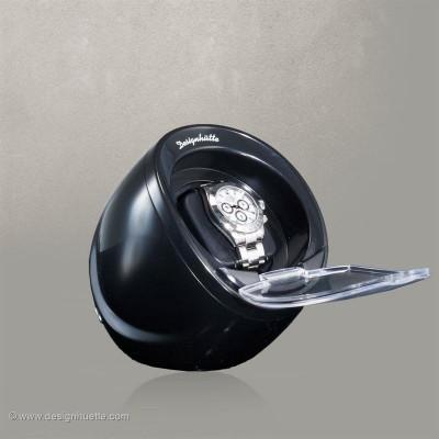 Кутия за навиване  Designhuette  Optimus 1 - черна  за 2 часовника