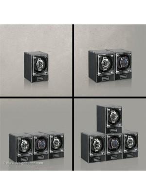 Кутия за навиване на часовници Designhuette  Piccolo - тъмно абанос