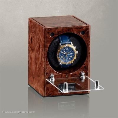 Кутия за навиване на часовник Designhuette  Piccolo - махагон