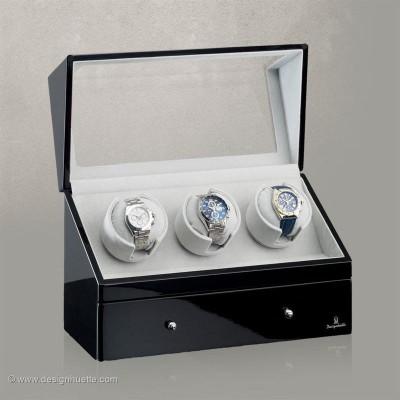 Кутия за навиване на часовници Designhuette  San Diego 3 - черно