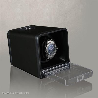 Кутия за навиване на часовници Designhuette Urban - черна
