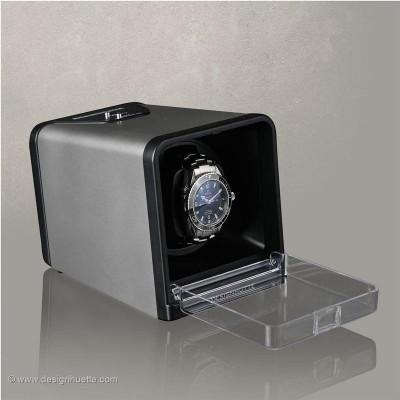 Кутия за навиване на часовници Designhuette  Urban - сребърна