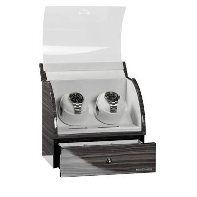 Кутия за навиване Designhütte Basel 2 Dark Oak 70005-36