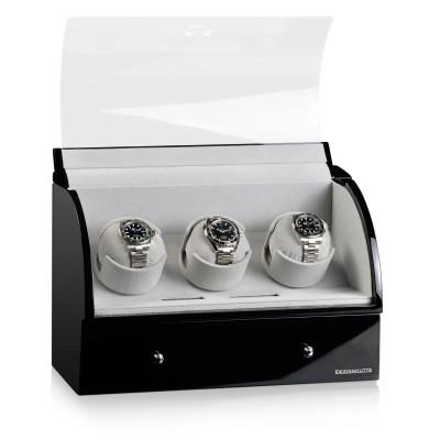 Кутия за навиване Designhütte Basel 3 Black 70005-25