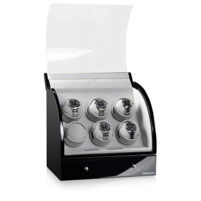 Кутия за навиване Designhütte Basel 6 Black 70005-27