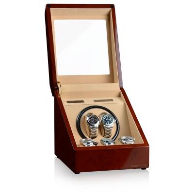 Кутия за навиване Designhütte Monaco Burl Wood 70005-43