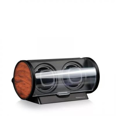 Кутия за навиване Designhütte Tubix Burl Wood 70005-140