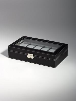 Кутия за съхранение Rothenschild RS-1098-12BL за 12 часовника