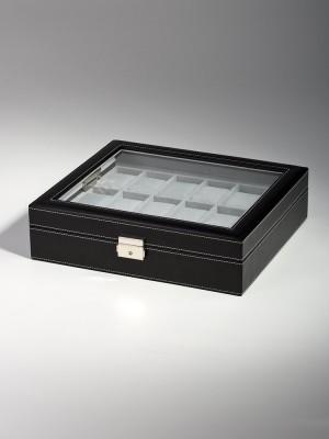 Кутия за съхранение Rothenschild RS-1123-18BL за 18 часовника