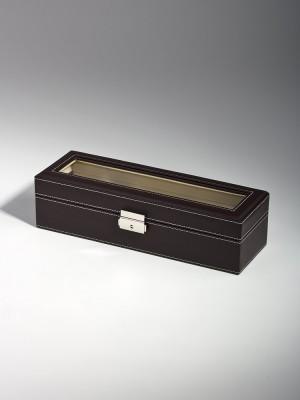 Кутия за съхранение Rothenschild RS-1680-6DBR за 6 часовника