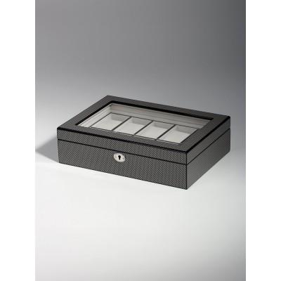 Кутия за съхранение Rothenschild RS-2071-10CA за 10 часовника