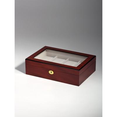 Кутия за съхранение Rothenschild RS-2105-8C за 8 часовника