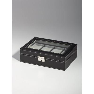 Кутия за съхранение Rothenschild RS-3361-8BL за 8 часовника