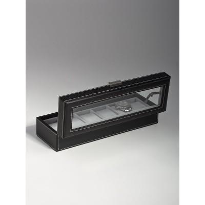 Кутия за съхранение Rothenschild RS-1680-6BL за 6 часовника