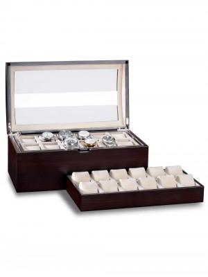 Кутия за съхранение Rothenschild Exclusive Line RS-5038-MCS за 24 часовника