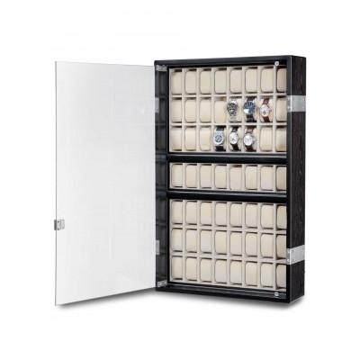Кутия за съхранение Rothenschild Exclusive Line RS-5051-BK за 56 часовника