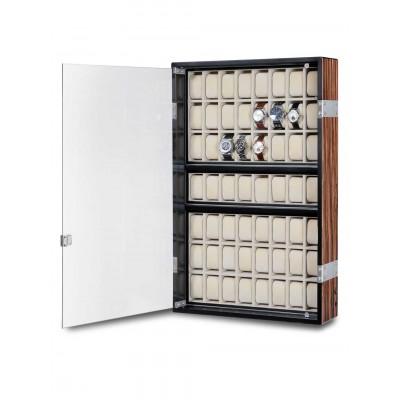 Кутия за съхранение Rothenschild Exclusive Line RS-5051-MCS за 56 часовника