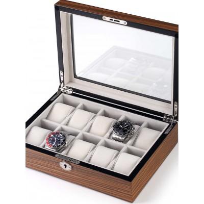 Кутия за съхранение Rothenschild RS-1087-10Z за 10 часовника