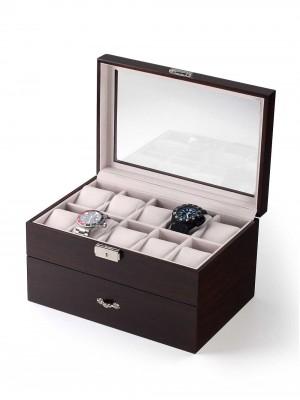 Кутия за съхранение Rothenschild RS-230-20WN за 20 часовника