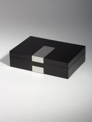 Кутия за съхранение Rothenschild RS-2022-8BL за 8 часовника