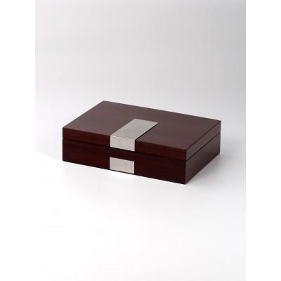 Кутия за съхранение Rothenschild RS-2022-8RO за 8 часовника