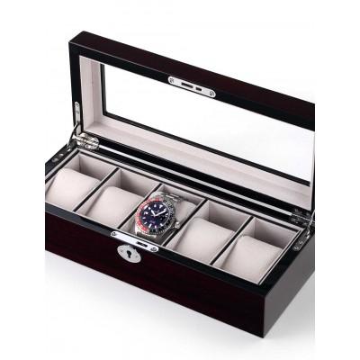 Кутия за съхранение Rothenschild RS-2030-5C за 5 часовника