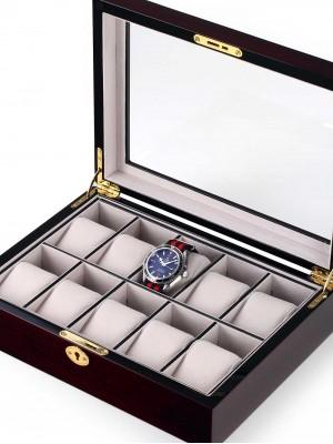 Кутия за съхранение Rothenschild RS-2031-10E за 10 часовника