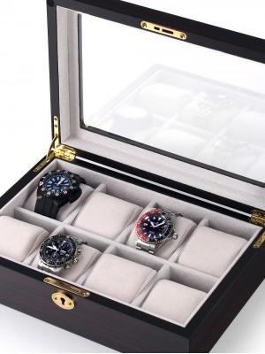 Кутия за съхранение Rothenschild RS-2105-8E за 8 часовника