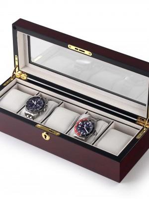 Кутия за съхранение Rothenschild RS-2291-5BU за 5 часовника