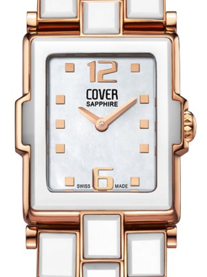 Дамски часовник Cover Steel-Ceramic CO141.RPL2M/CER