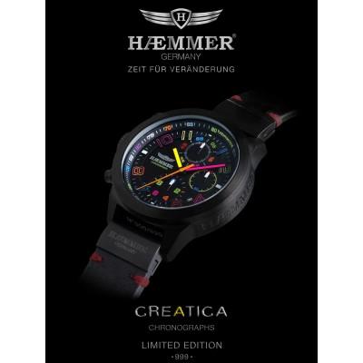 Дамски часовник Haemmer Creatica CR-01-D Salva