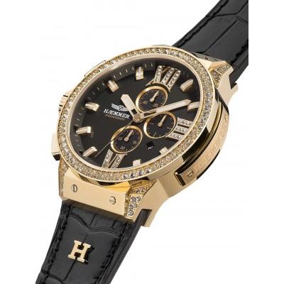Дамски часовник Haemmer Eminent E-004 Black Sun