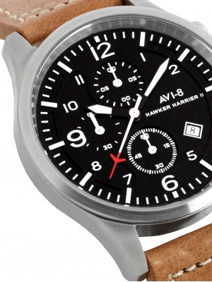 Мъжки часовник AVI-8 Hawker Harrier II AV-4001-02 Chrono