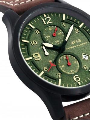 Мъжки часовник AVI-8 Hawker Harrier II AV-4001-04 Chrono