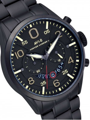 Мъжки часовник AVI-8 Hawker Harrier II AV-4031-14 Chrono