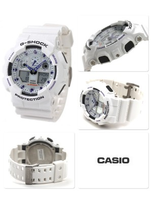 Мъжки часовник Casio G-Shock GA-100A-7AER