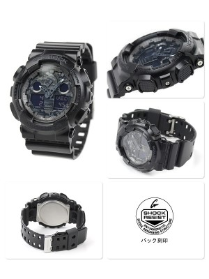 Мъжки часовник Casio G-Shock GA-100CF-1AER