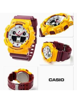 Мъжки часовник Casio G-Shock GA-100CS-9AER