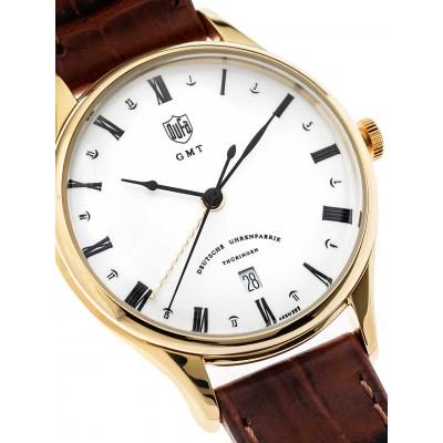 Мъжки часовник DuFa Weimar DF-9006-03 GMT