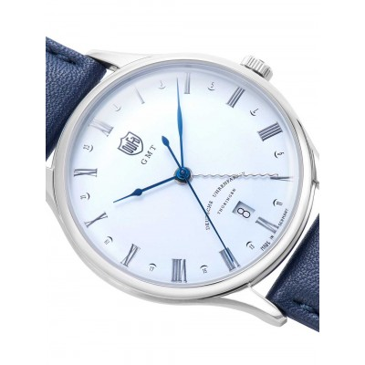 Мъжки часовник DuFa Weimar DF-9006-06 GMT
